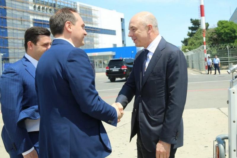 В Дагестан прибыл Антон Силуанов