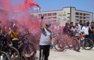 В Дербенте ко Дню России прошел велопарад