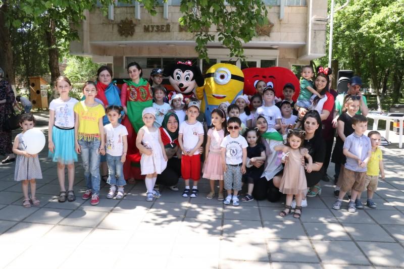 Минмолодежи Дагестана провело праздничные мероприятия в День защиты детей
