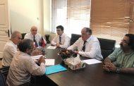 Абдулмуслим Абдулмуслимов встретился с иранскими предпринимателями