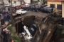 В селе Бежта рухнул самодельный мост