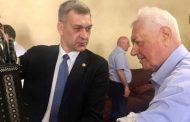Владимир Васильев поздравил Магомедали Магомедова с 89-летием
