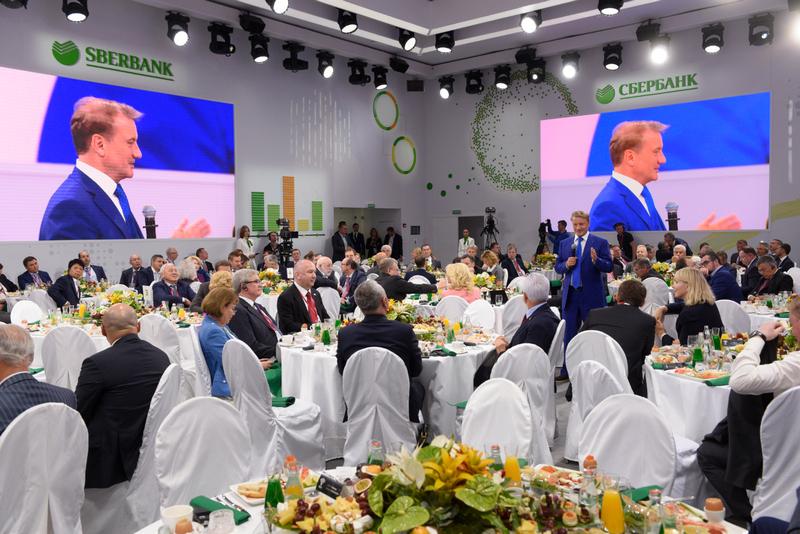 Глава Дагестана принял участие в деловом завтраке «Сбербанка»