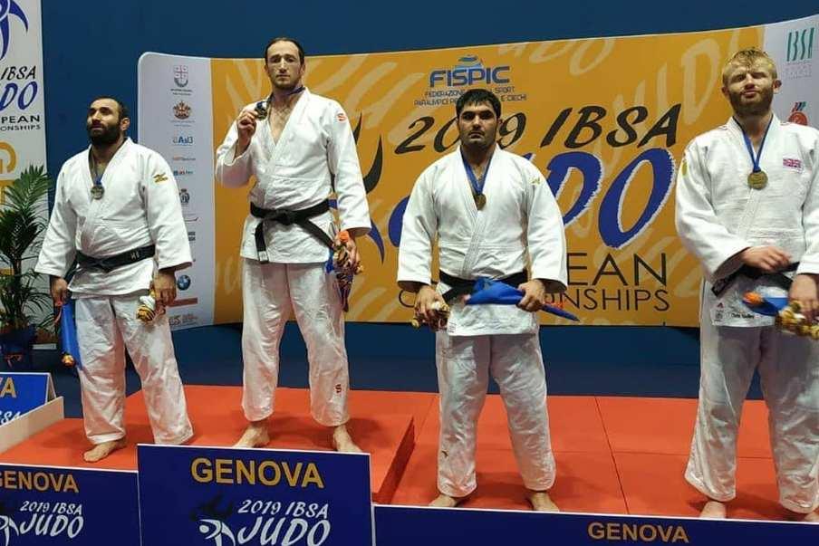 Трое дагестанцев стали чемпионами Европы по дзюдо среди слабовидящих