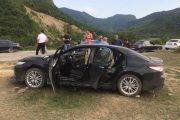 В селе Хунгия в салоне Toyota Camry обнаружен труп с огнестрельным ранением