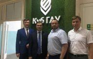 Сергей Снегирев с рабочим визитом посетил Кубанский ГАУ