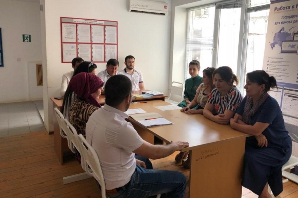 В Табасаранском районе провели ярмарку вакансий для пенсионеров