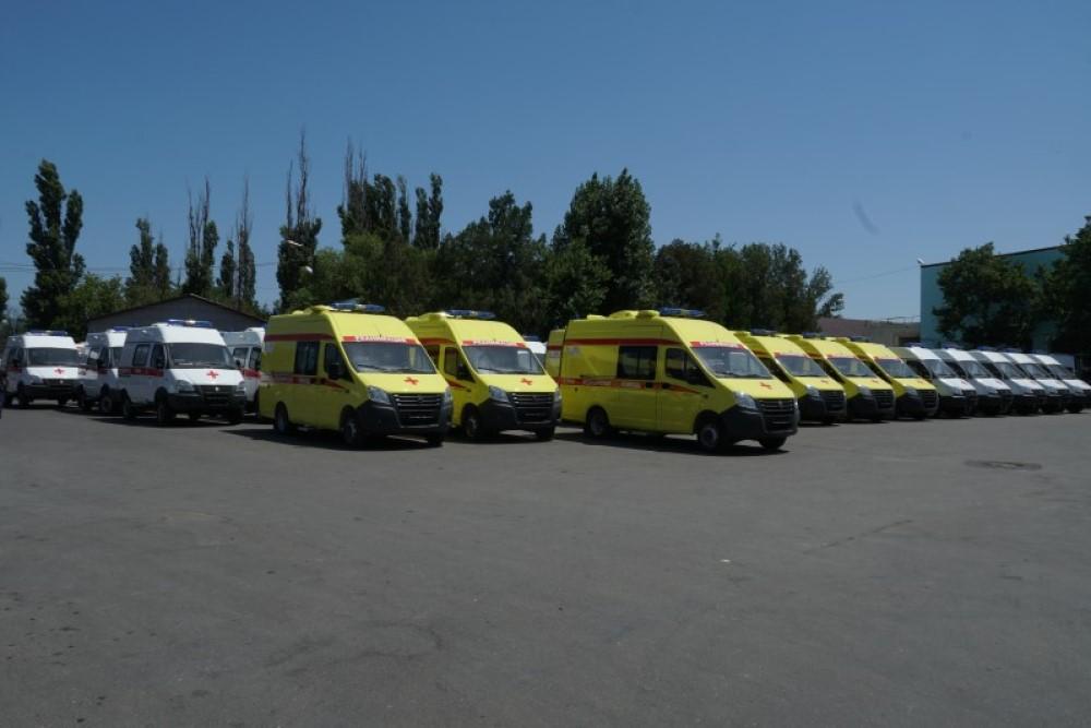 Дагестан закупил 40 новых карет скорой помощи