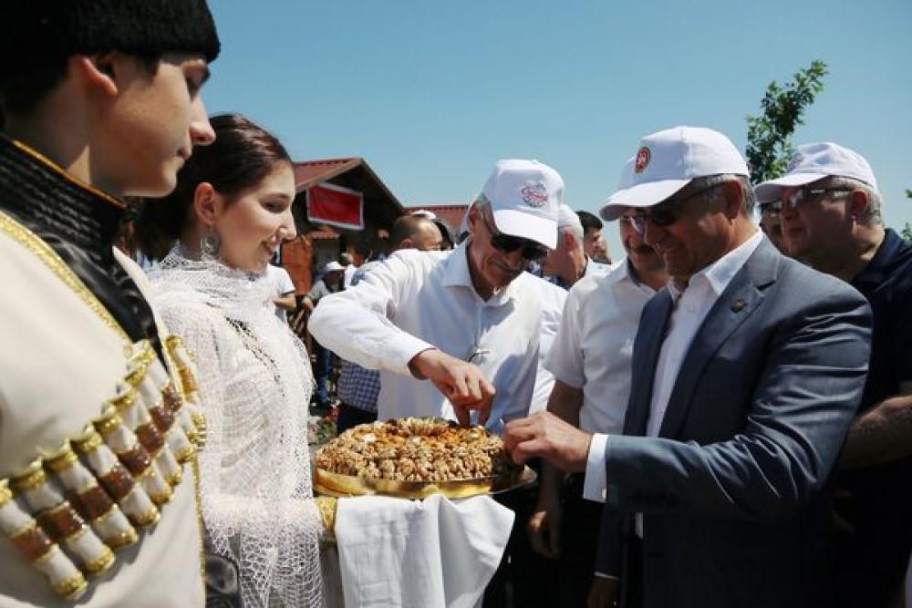 «Сабантуй» собрал в Дагестане делегации со всей России и зарубежья