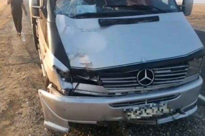 На трассе Астрахань – Махачкала в ДТП погиб пешеход