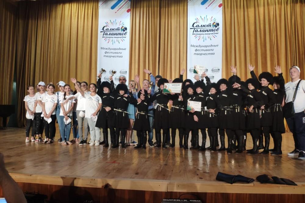Дагестанские танцоры получили гран-при международного фестиваля в Абхазии