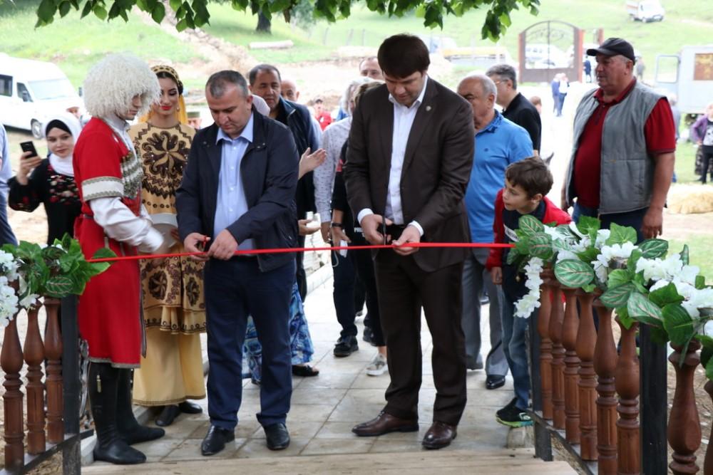 В Казбековском районе открыли зону отдыха, которой заинтересовались турецкие инвесторы