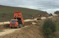 В Буйнакском районе идет строительство дороги