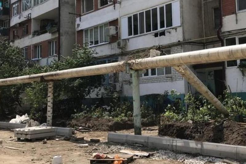 В Махачкале ведется ремонт 32 дворов и 6 городских территорий