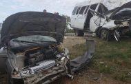 Шесть человек пострадали в ДТП у села Каякент (ФОТО)