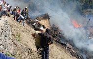 Два человека погибли при пожаре в Цунтинском районе