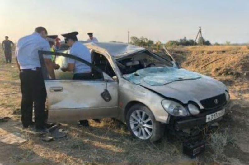 На трассе «Кавказ» перевернулся «Лексус»: погиб водитель