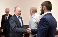 Путин поздравил Хабиба Нурмагомедова с победой на турнире в Абу-Даби (ФОТО)