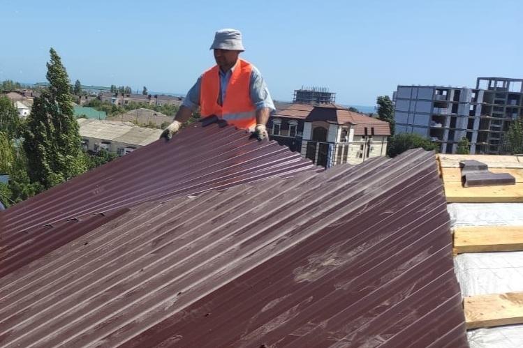 В Каспийске завершается капитальный ремонт многоквартирных домов