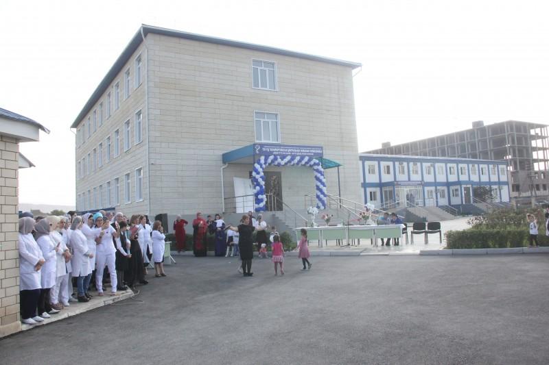 Здание поликлиники в Кизилюрте восстановлено после пожара