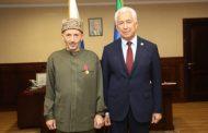Владимир Васильев вручил медаль муфтию Дагестана Ахмад-хаджи Абдулаеву
