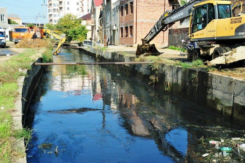 Участок канала имени Октябрьской революции будет реконструирован