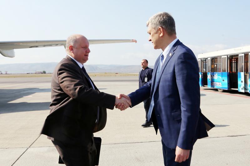 В Дагестан прибыл Сергей Чеботарев