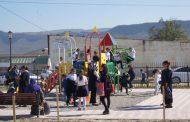 В селе Кафыр-Кумух Буйнакского района открылся новый сквер
