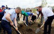 Артем Здунов и Владимир Иванов присоединились к акции «Мой Дагестан - Зеленые километры»
