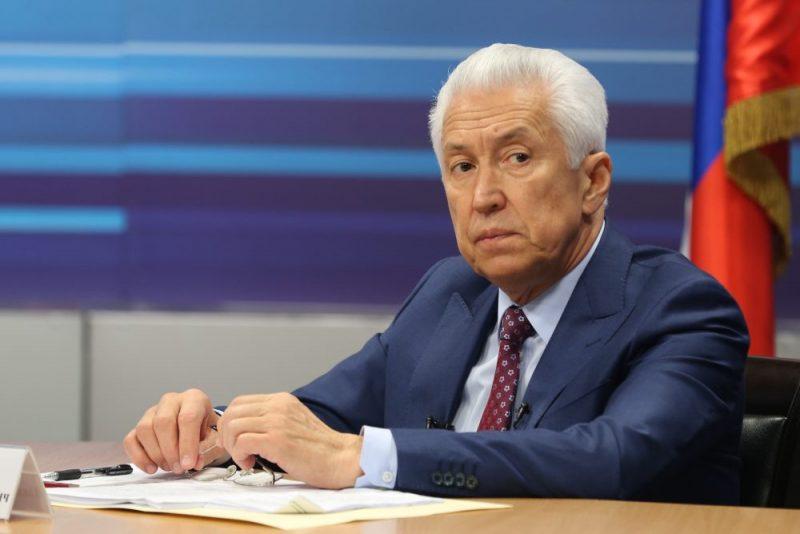Владимир Васильев - в пятерке лидеров Национального рейтинга губернаторов