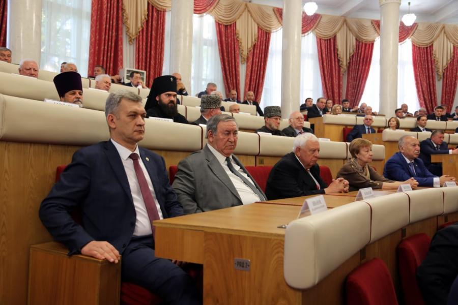 Владимир Иванов принял участие в церемонии вступления Казбека Кокова в должность главы Кабардино-Балкарии