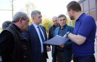 Владимир Иванов и Салман Дадаев обсудили вопросы реконструкции проспекта Имама Шамиля