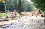 В Махачкале начаты мероприятия по реконструкции парка 50-летия Октября
