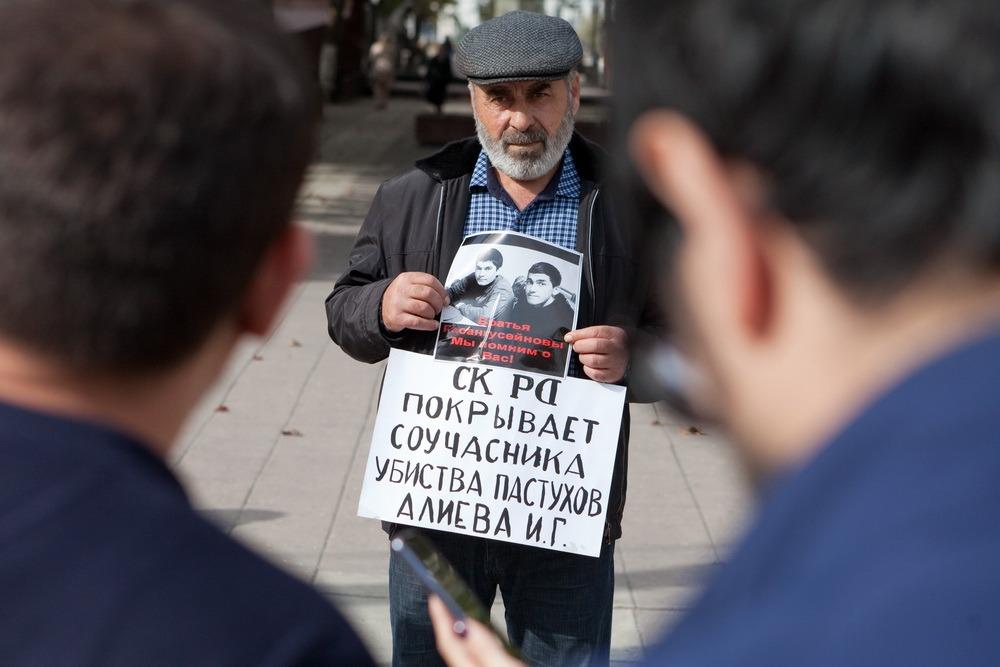 Муртазали Гасангусенов требует уволить из МВД бывшего начальника Шамильского РОВД