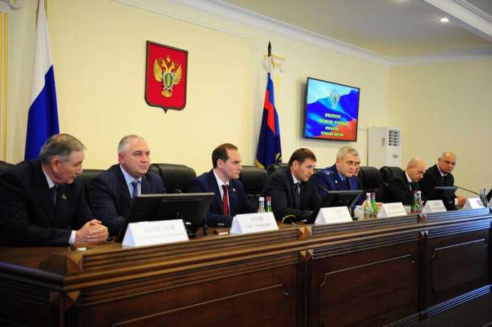 Дмитрий Демешин представил нового прокурора Дагестана