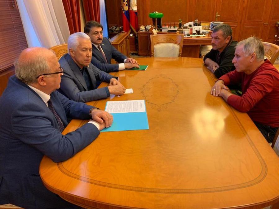 Владимир Васильев провел совещание по вопросу оказания мер социальной поддержки участников афганских событий