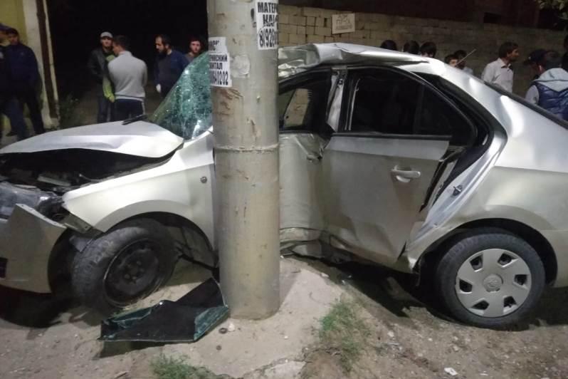 В ДТП в Махачкале погиб 16-летний водитель без прав