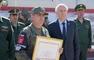 Батальон военной полиции вернулся в Дагестан из Сирии