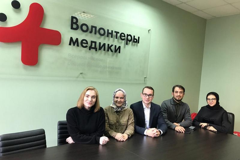 «Волонтеры-медики» будут сотрудничать с Первой городской больницей Махачкалы