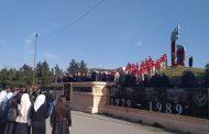 В Хасавюрте прошла церемония закрытия вахты памяти