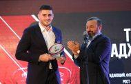 Регбисты Тагир Гаджиев и Байзат Хамидова признаны игроками года в России