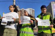В Махачкале прошла акция в память о жертвах ДТП