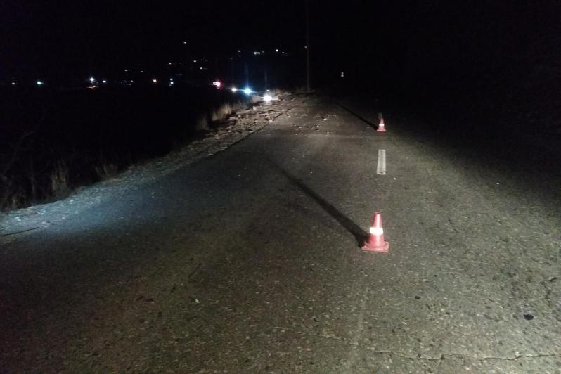В Гергебильском районе погиб водитель машины, упавшей с обрыва