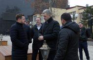 Владимир Иванов и Салман Дадаев поблагодарили городских активистов за сохранение сквера