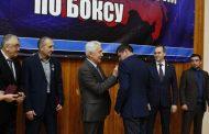 Глава Дагестана посетил Новогодний турнир по боксу