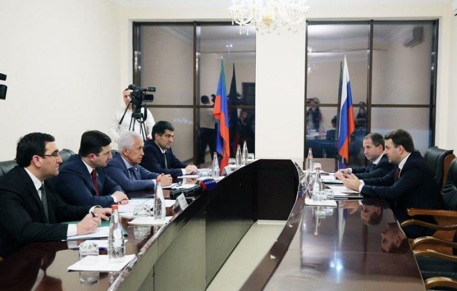Максим Орешкин заверил в поддержке инициируемых в Дагестане проектов
