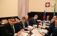 Правительство Дагестана приняло участие в заседании президиума Совета при президенте России