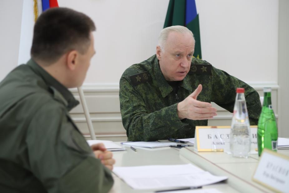 СКР доложил, какими делами интересовался в Махачкале Александр Бастрыкин