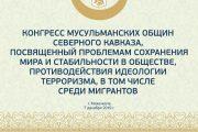В Махачкале пройдет Конгресс мусульманских общин Северного Кавказа