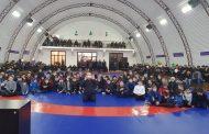 В Ахвахском районе открылся новый спортзал